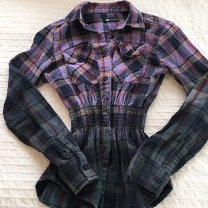 Krush plaid shirt